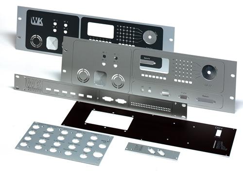 Frontplatten in diversen Ausführungen