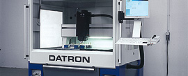 WK-Mechanik produziert auf modernen Datron CNC-Maschinen.