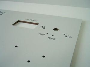 MkHp-Platte mit Siebdruck