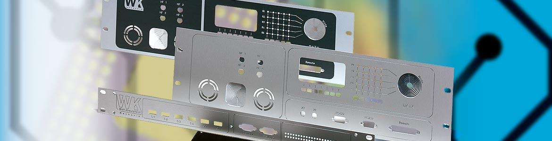 Frontplatte - Gehäuse - Sonderanfertigung - Bedruckung - Gravur - Buchse - Prototyp - Serie - Einzelstück - von WK-Mechanik!